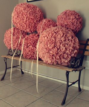 Poms for party, decor, birthday, quinceañeras, weddings, nursery, girl room, for Sale in Scottsdale, AZ