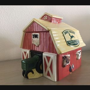 John Deere Barn Cookie Jar with box! for Sale in Irvine, CA