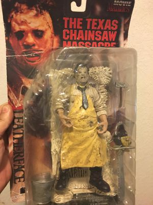 LeatherFace Chainsaw Massacre action figure for Sale in Fontana, CA