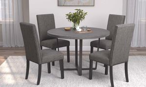 5pc Dining Table Set @Elegant Furniture for Sale in Fresno, CA