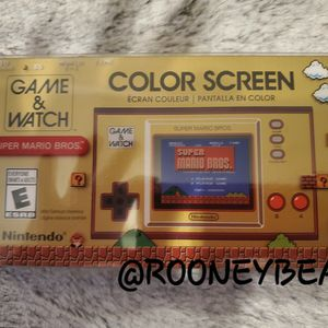 NINTENDO GAME AND WATCH SUPER MARIO BROS for Sale in Riverside, CA