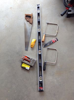 6 tool items, choose 2 for $10, 3 for $15, or everything for $25 for Sale in Hudson, NH