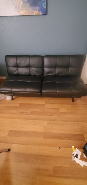 Leather Futon for Sale in Highland Beach, FL