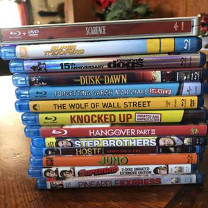 Blue Ray Movies for Sale in Reedley, CA