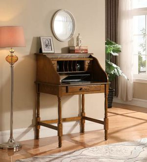 Warm Honey Secretary Desk #95301N-LK for Sale in Dallas, TX