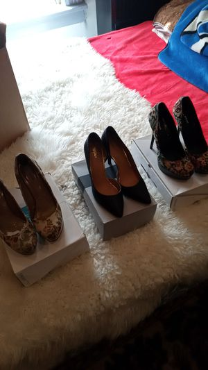 High heel pumps three pairs total size 11 for Sale in Los Angeles, CA