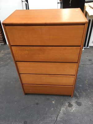 Nice hardwood dresser for Sale in Newton, MA