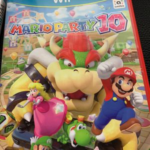 Mario Party 10 Wii U for Sale in Manvel, TX