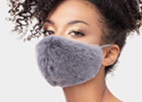 Gray fur mask for Sale in Parkville, MD