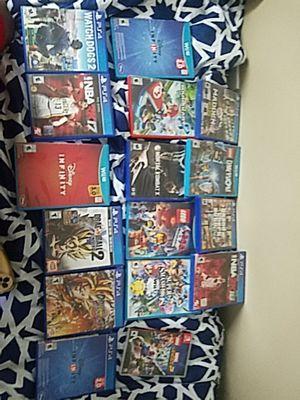 Ps4, Nintendo switch, Wii u games for Sale in Wilmington, DE