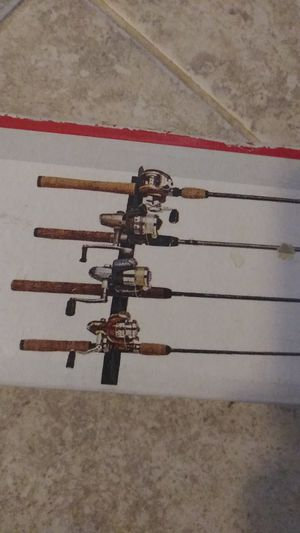 Fishing rod rack 4 rods *New* for Sale in Spokane, WA