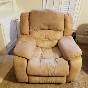 Recliner couch & chair for Sale in Lilburn, GA