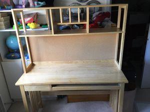 Oak Desk, 2 piece for Sale in Renton, WA
