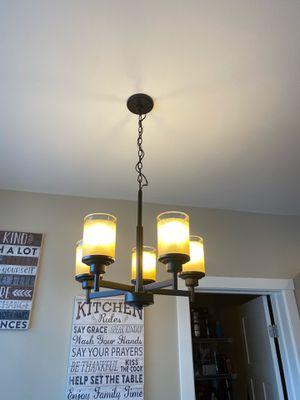 Modern chandelier - 2 set for Sale in Bellevue, WA