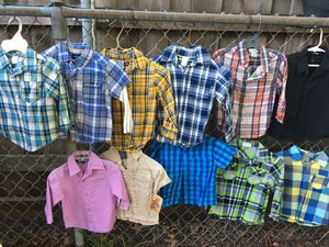 Boy's shirt size 2-3 year all good condition $5 each for Sale in Mesquite, TX