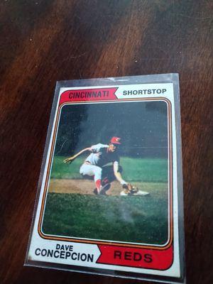 Dave Concepcion Cincinnati Reds Legend Baseball Cards lot for Sale in Tampa, FL