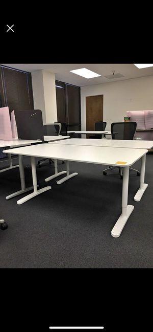 "IKEA bekant desks 15 available white or black legs 48""/31""/31"" for Sale in Sunnyvale, CA"
