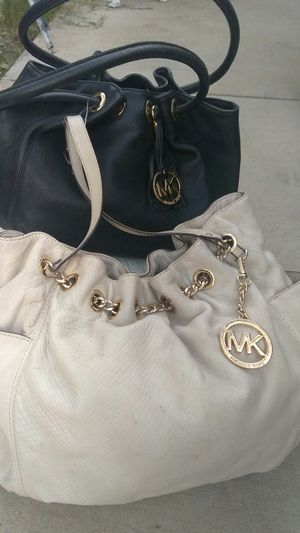MK LEATHER BAGS BUNDLE USED * FIRM $$ for Sale in Riverside, CA