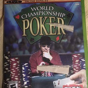 World Championship Poker XBox live Video Game for Sale in Winnsboro, SC