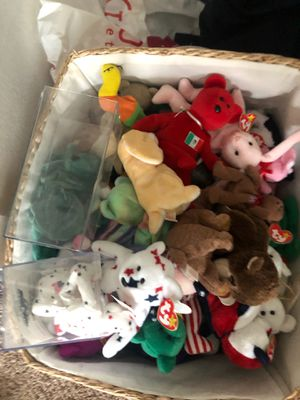 Rare beanie babies for Sale in Lake Elsinore, CA