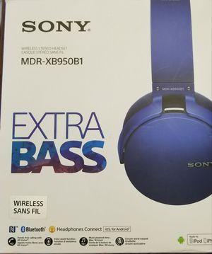 Sony MDR XB950B1 Headphones New in Box for Sale in Saint Petersburg, FL