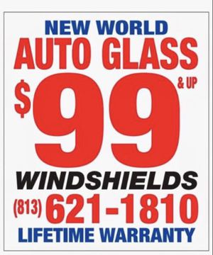 Windshield Replacement for Sale in Tampa, FL