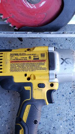 Dewalt 20v 1/2 Inch Drive Impact Brushless Motor Drill, & Circular Saw 20v for Sale in Las Vegas,  NV