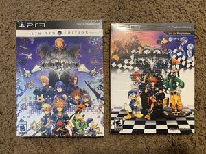 Kingdom Hearts 1.5 Hd and 2.5 Hd remasters ps3 NEW for Sale in Long Beach, CA