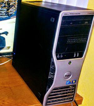 Dell Gaming PC: Xeon 6core, GTX 1060, SSHD, 15GB-DDR3, FortNite/Valorant for Sale in Santa Maria, CA