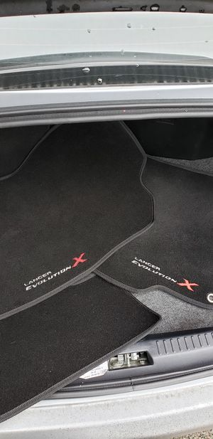 Evo X special edition oem mats for Sale in Seattle, WA