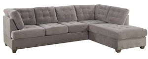 2-Pcs Sectional Sofa / Couch by Poundex for Sale in New York, NY
