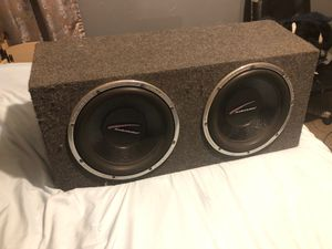 "12"" Audiobahn subwoofers for Sale in Glen Burnie, MD"