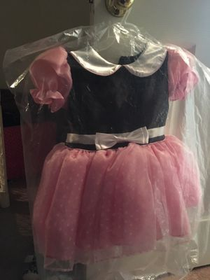 Minnie Mouse dress w/ ears and slit for Sale in Las Vegas, NV