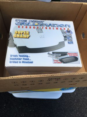 Brand new George Foreman grill for Sale in Mount Laurel Township, NJ