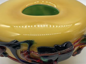 Italian Murano Hand Blown Glass Vase for Sale in Seattle,  WA