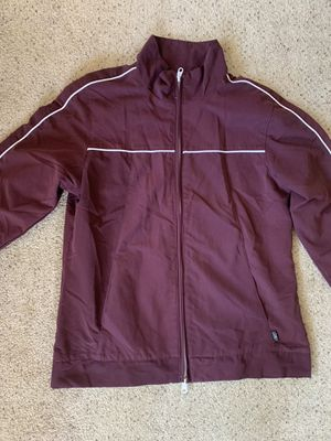 Reebok burgundy zip up jacket for Sale in Hayward, CA