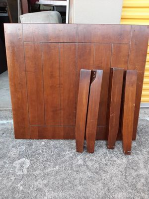Table - real wood for Sale in Mansfield, TX