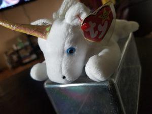 "Ty Beanie Baby 1994 ""Mystic"" Unicorn for Sale in Tacoma, WA"