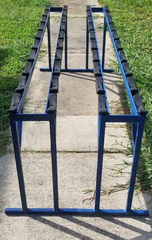 Matching Ivanko dumbbell racks for sale for Sale in Newport News, VA