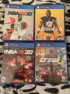 PS4 games and accessories only for Sale in Ansonia, CT