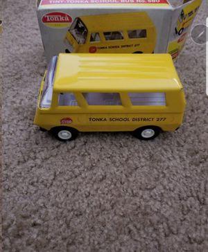 Vintage Tonka Yellow School Bus w/Box for Sale in Las Vegas, NV