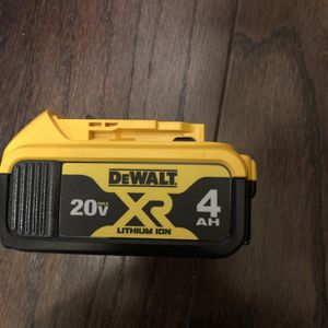 New Battery And Charger 20 volts Xr 4.0 for Sale in Washington, DC