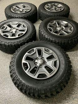 2018 jeep Rubicon wheels for Sale in Covina,  CA