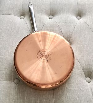 "New 10"" Copper Cooking Pan Skillet Palm Restaurant for Sale in Dumont, NJ"