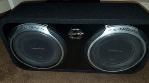 """Rockford Fosgate 10"""" Subwoofers P3S Baseworx for Sale in Porter, TX"""