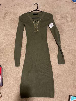 Brand New W/Tags Sweater Dress Size Large for Sale in Fayetteville, NC