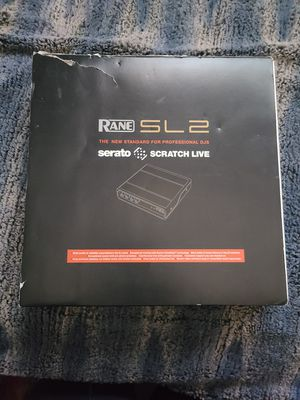 Rane Serato Scratch Live Audio Interface for Sale in RANCHO SUEY, CA