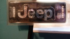 Jeep emblem for Sale in Wilmer, AL