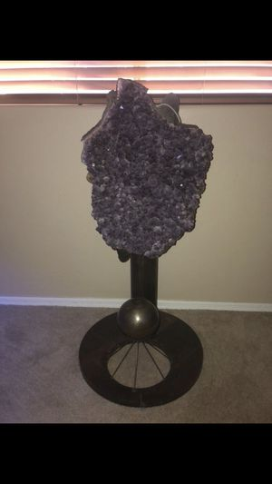 One of a kind Large Amathyst Sculpture for Sale in Phoenix, AZ