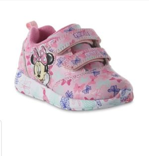 MINNIE MOUSE LIGHT UP SHOES SIZE 11 for Sale in Lodi, CA